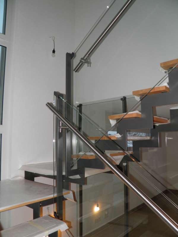 J.-Cl. Perrenoud » Escalier Métal Verre et Bois